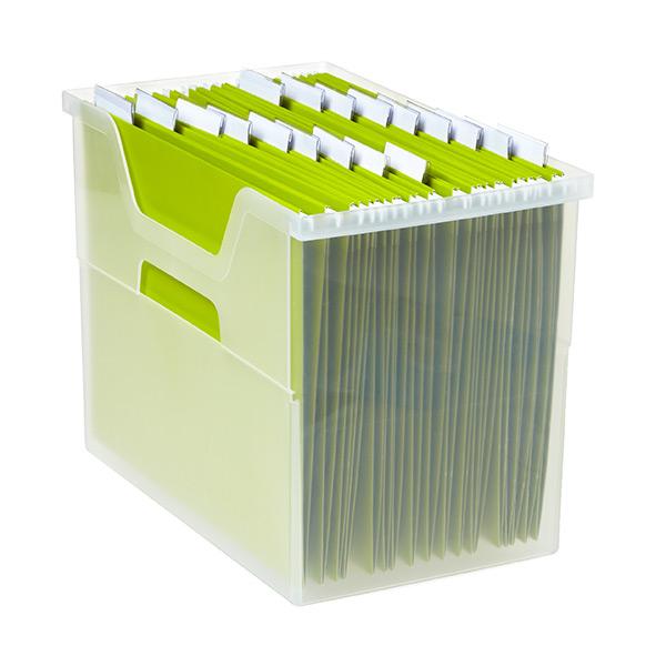 Open Top File Box