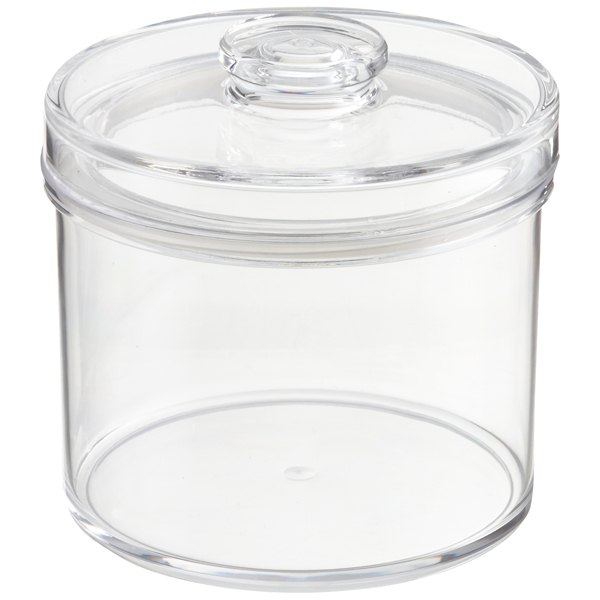 Round Acrylic Canister