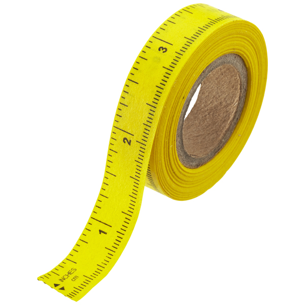 Peel-n-Stick Ruler Tape