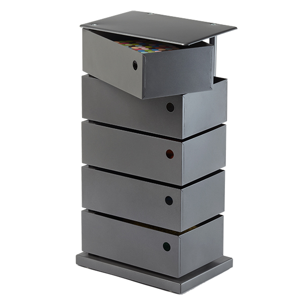 5-Bin Storage Tower