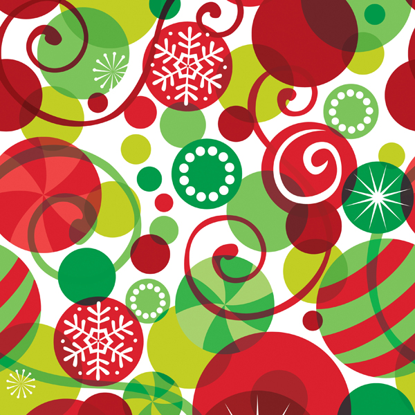 Wrap Graphic Ornaments