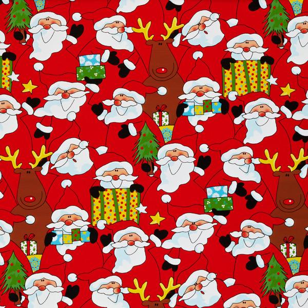 Wrap Santa Crowd