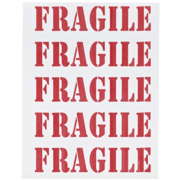 Fragile Labels