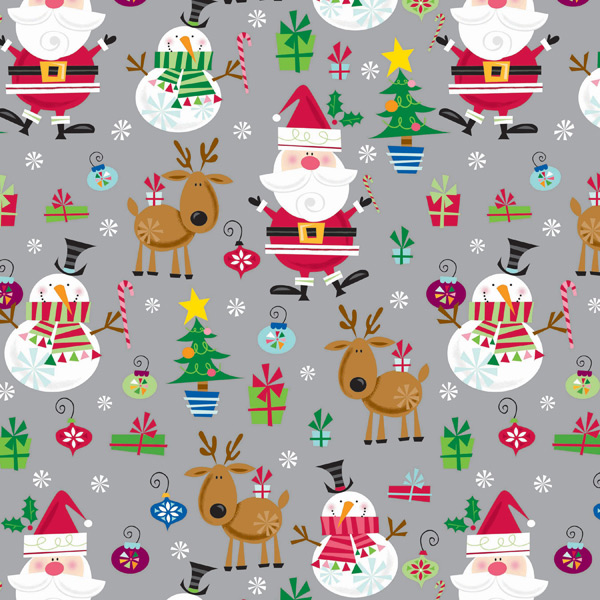 Wrap In Santa Style