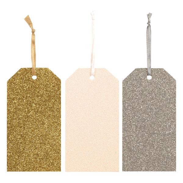 Gift Tag Seasonal Shimmer