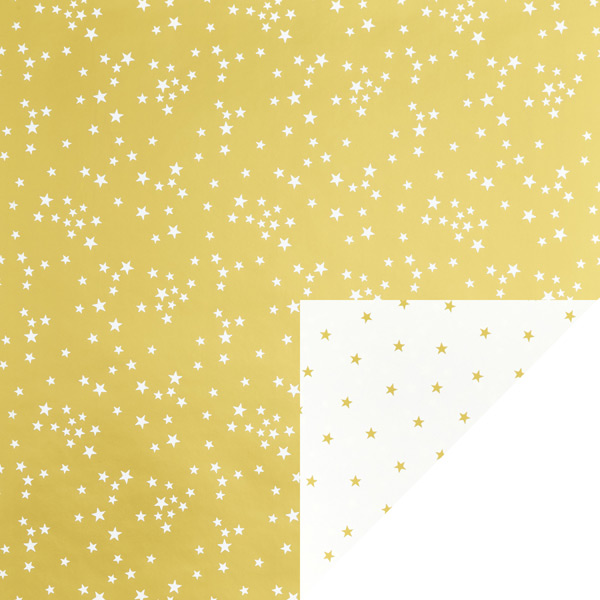 Reversible Wrap Shiny Stars