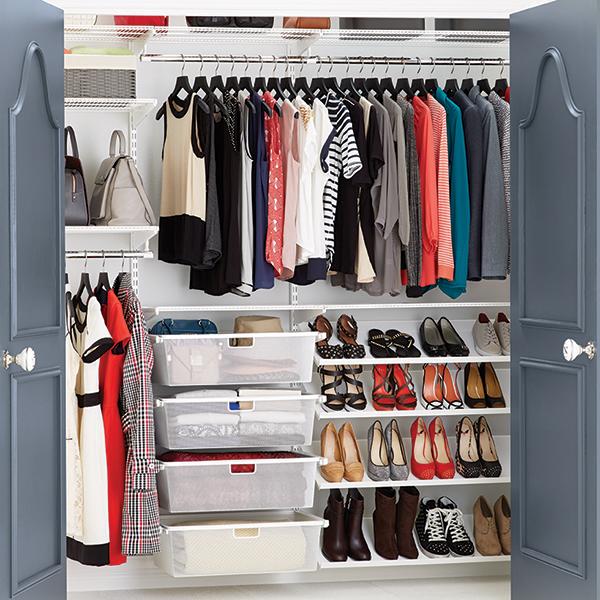 Reach-In Clothes Closet