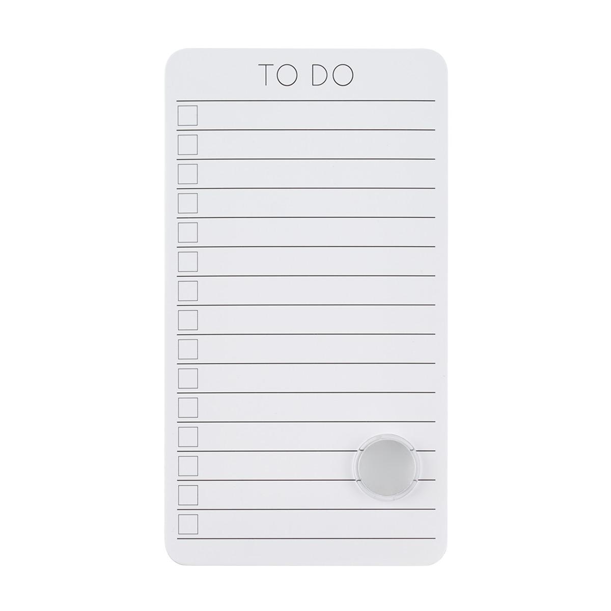 Dry Erase To-Do Memo Board