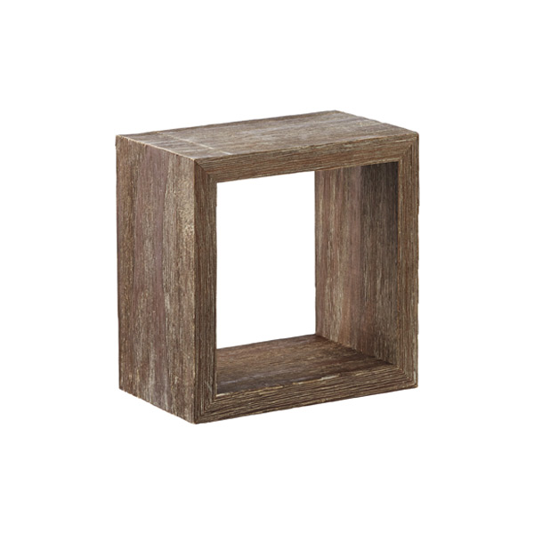 Display Cube Driftwood