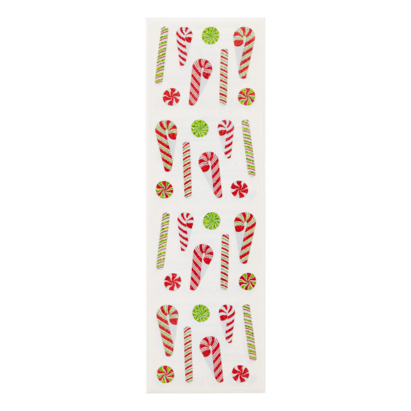Sticker Sheets Holiday Candies
