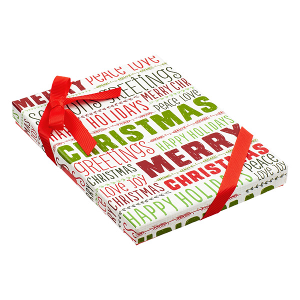 Gift Card Holder Holiday Words