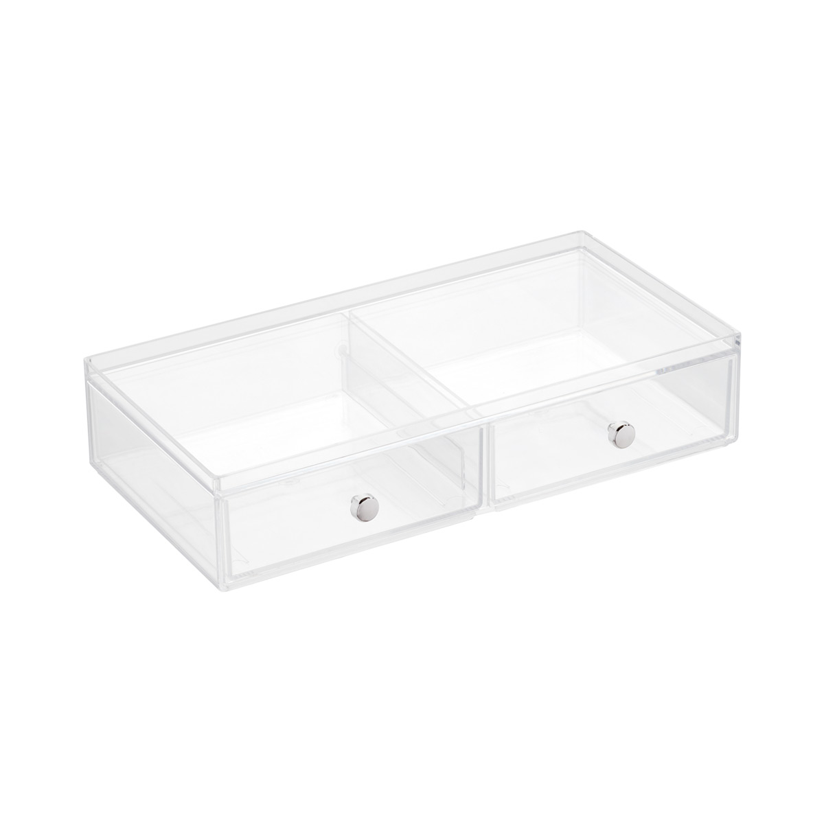 Wide 2-Drawer Stacking Box