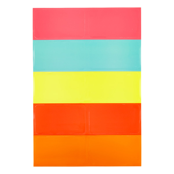 Dry Erase Silicone Labels