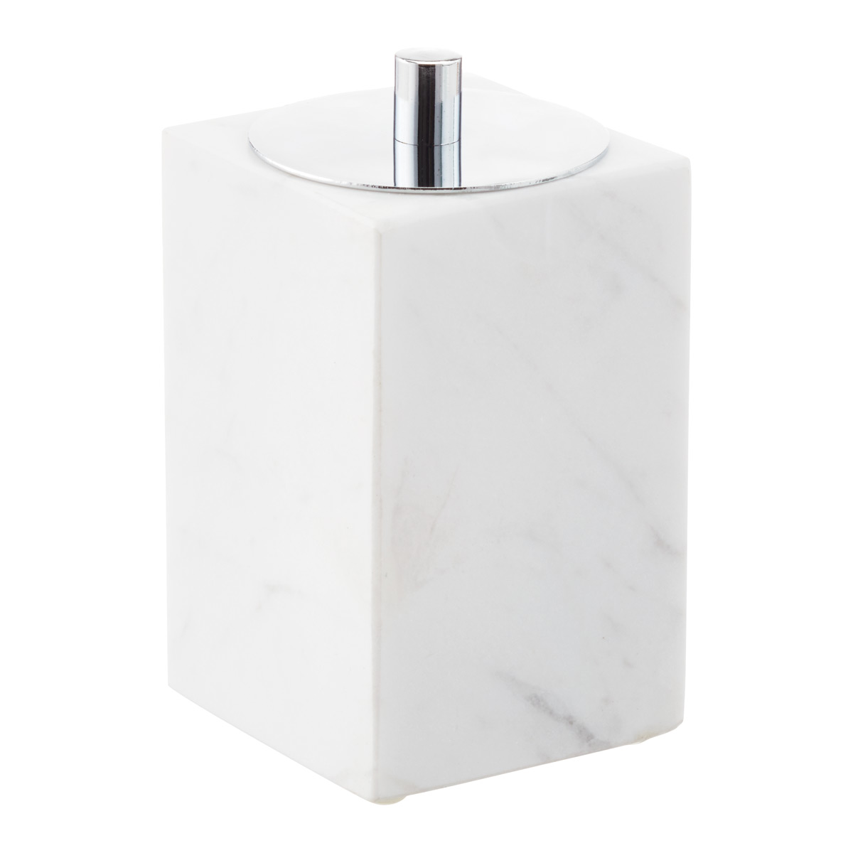 Square Marble Canister