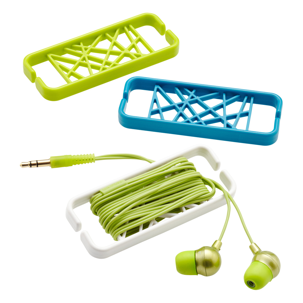 Web Earbud Cord Wrap