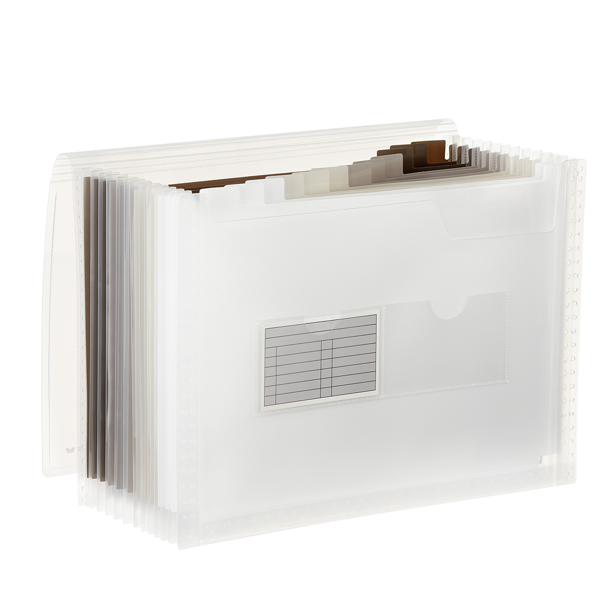 Accordion Letter File