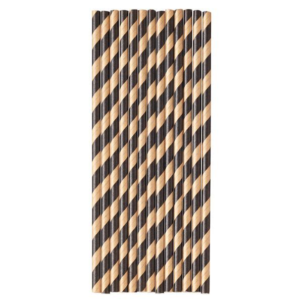 Stripe Paper Straws
