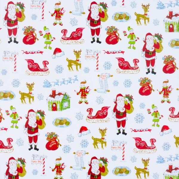 Wrap Here Comes Santa