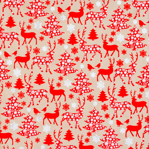 Wrap Sheets Glitter Forest