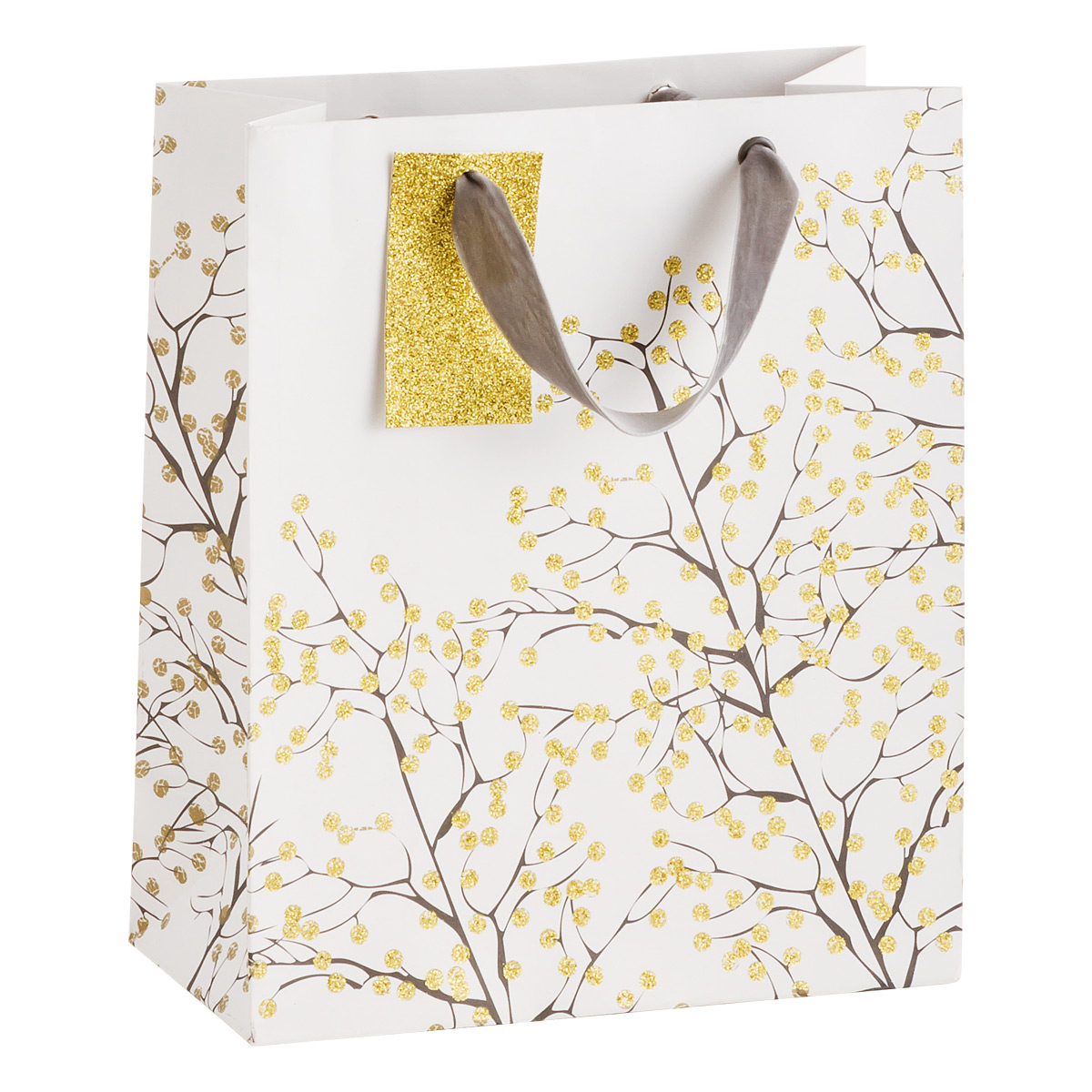 Tote Enchanted Gold Glitter