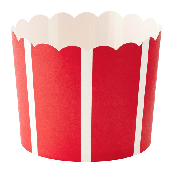 Wide Stripe Baking Cups