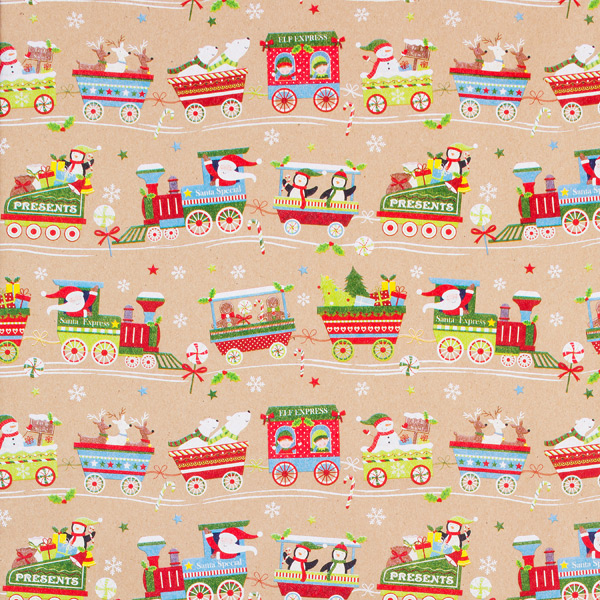 Wrap Christmas Train