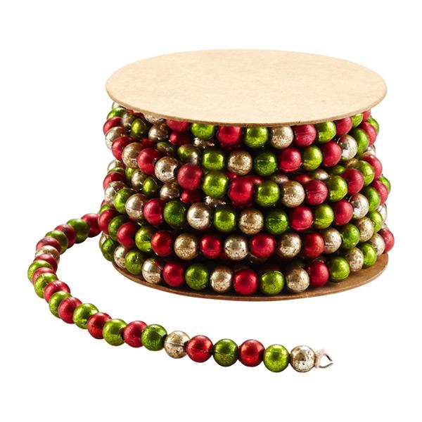 Ribbon Vintage Beads on Spool