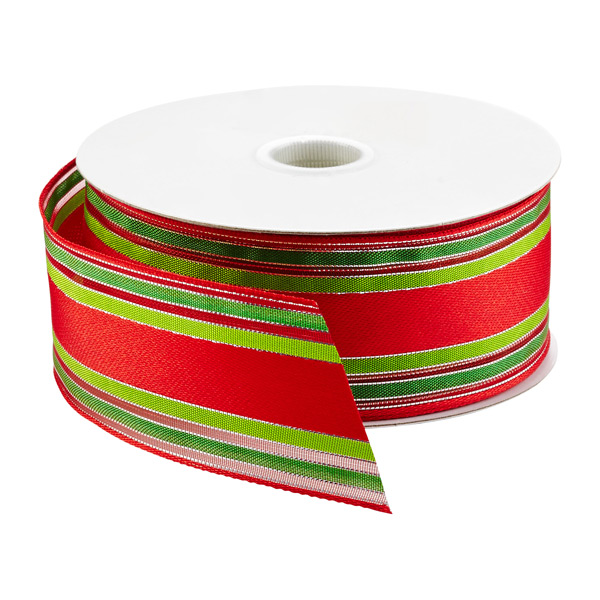 Ribbon Wired Holiday Stripe
