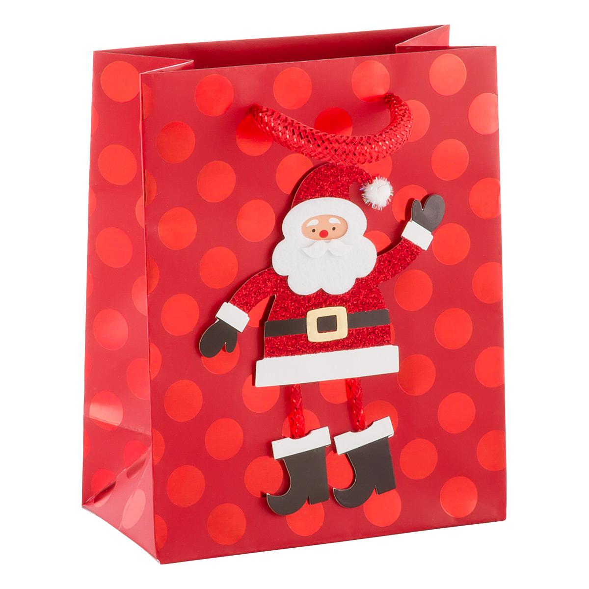 Tote Cheerful Santa