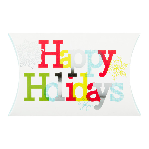 Gift Box Happy Holidays