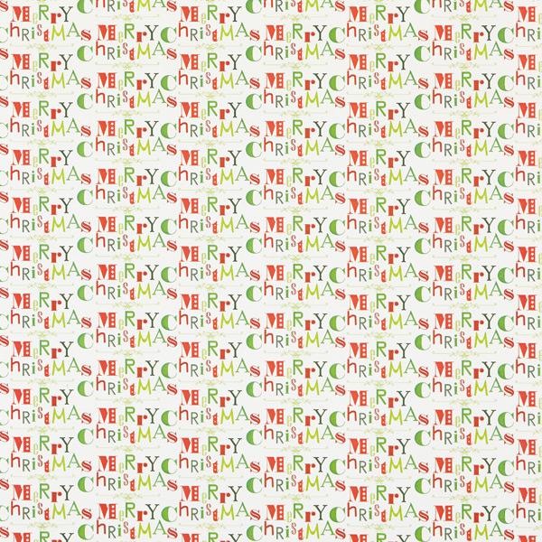Treeless Wrap Merry Christmas