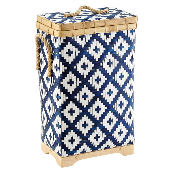 Diamond Bamboo Hamper