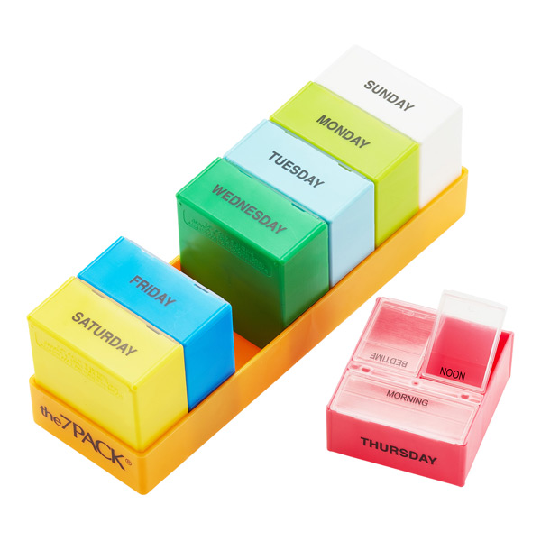 3-Section Pill Organizer