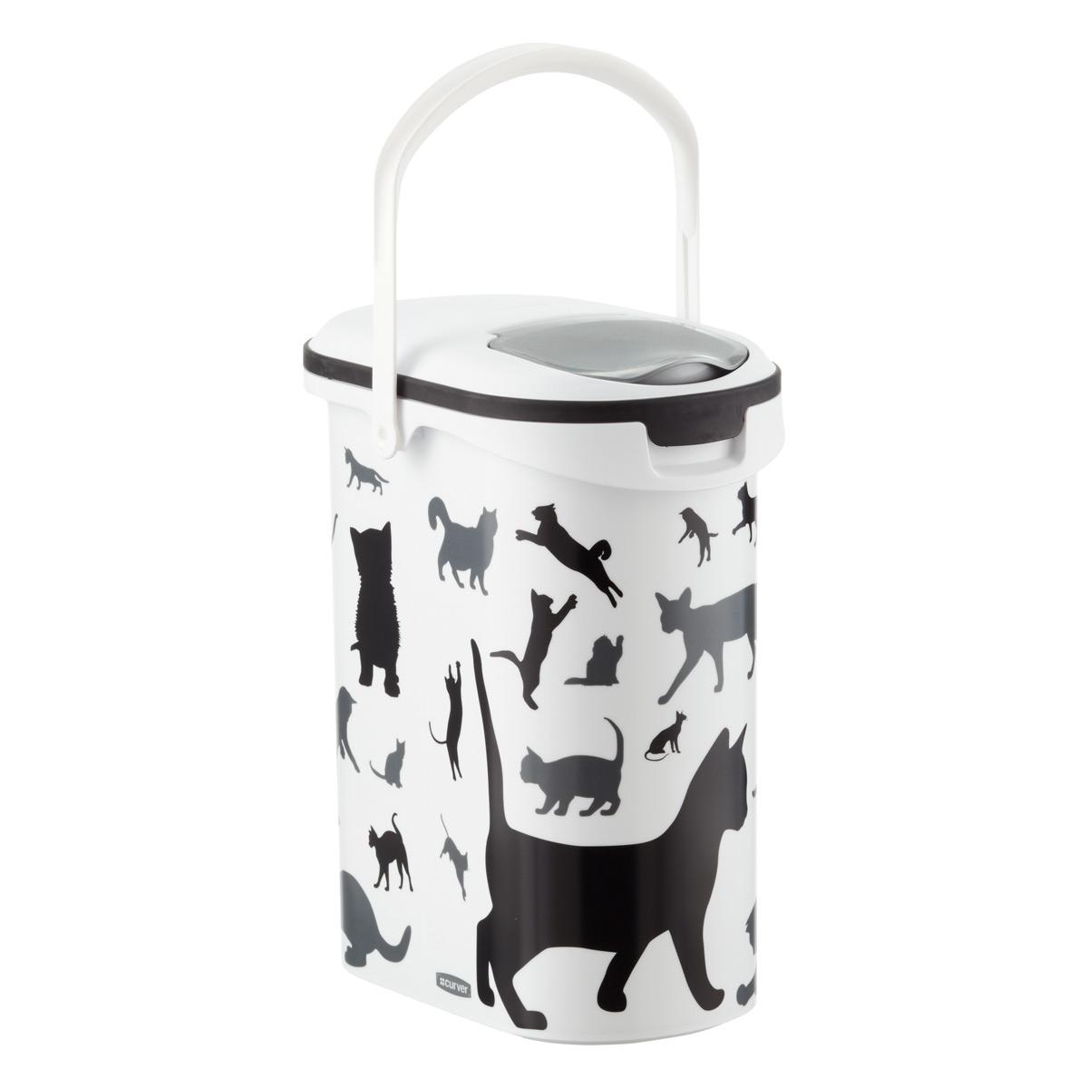 Pet Dry Food Container Cat