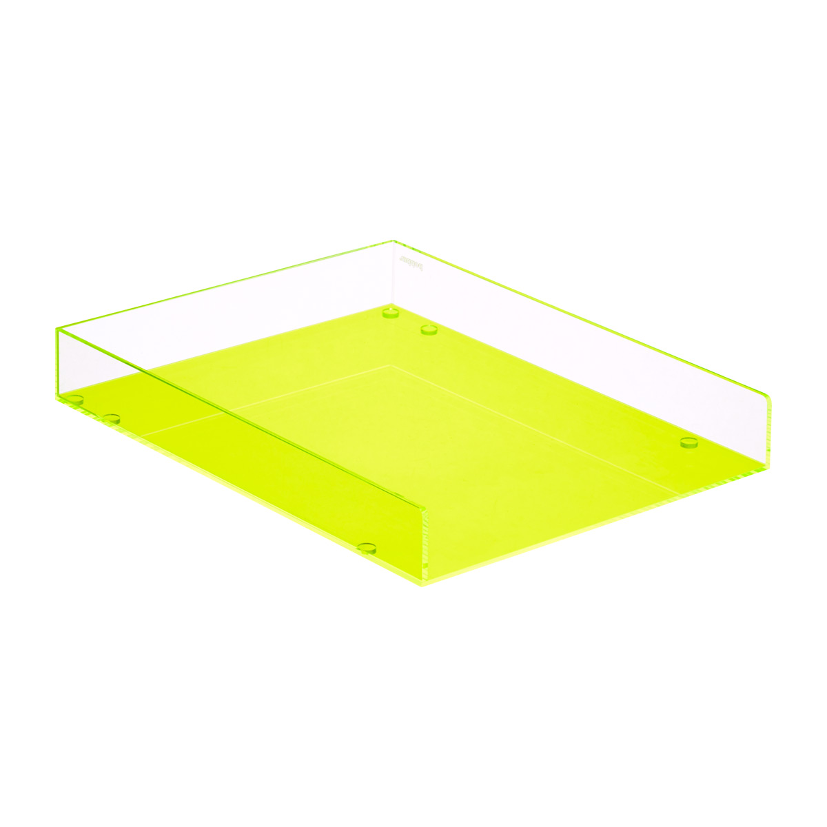 Acrylic Stacking Letter Tray