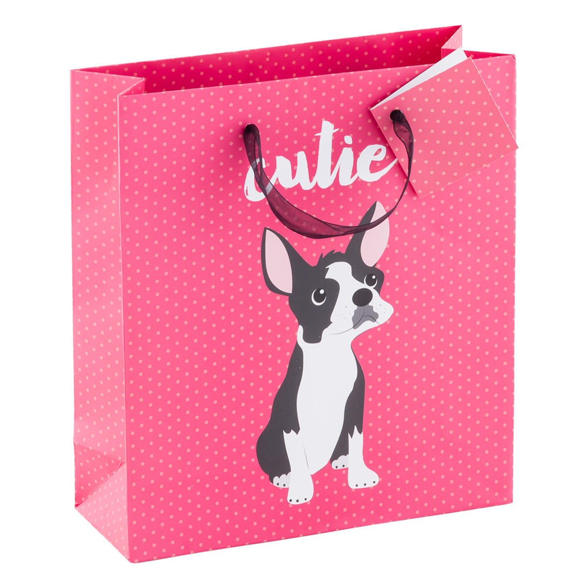 Tote Cutie Dog Pink