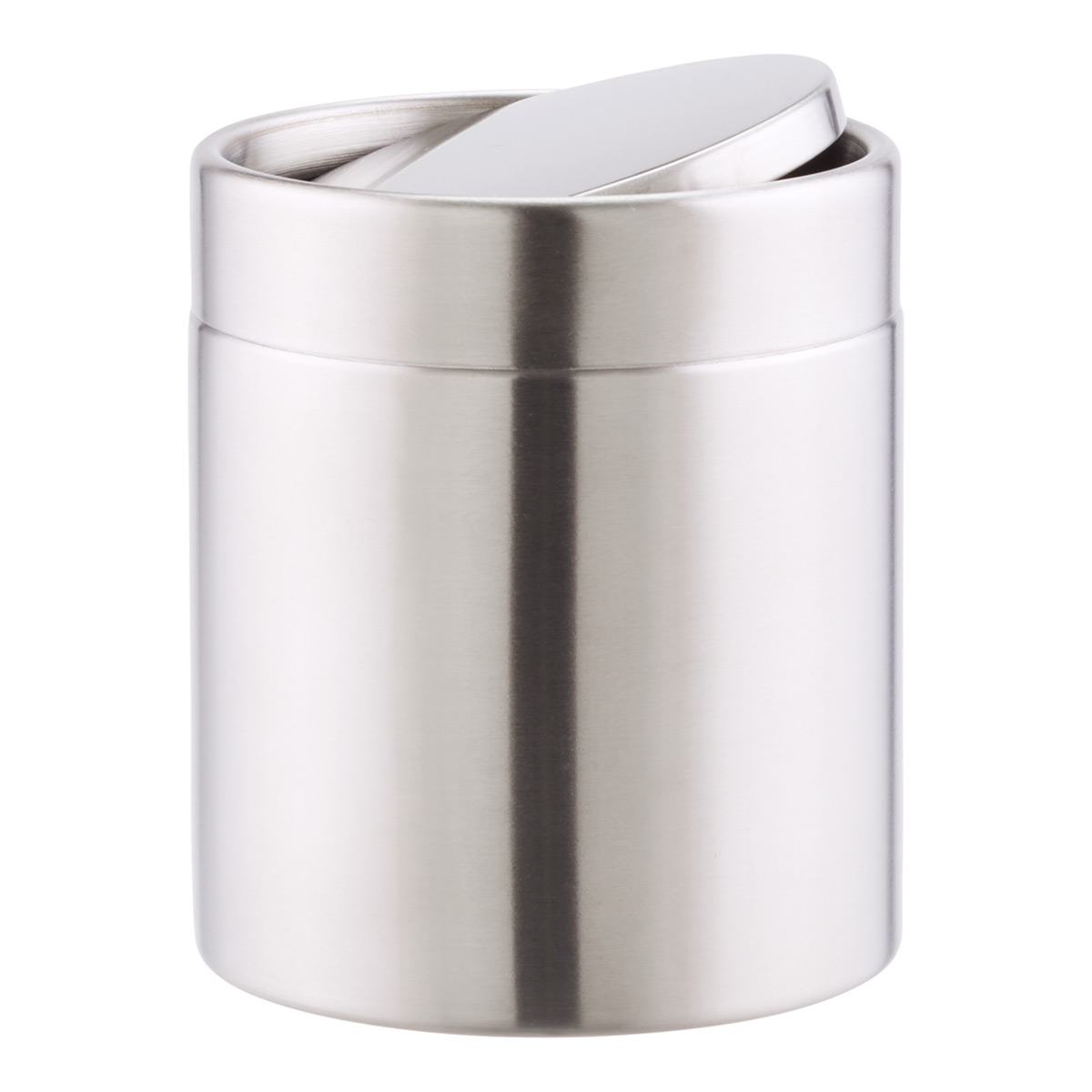Swing Lid Countertop Trash Can