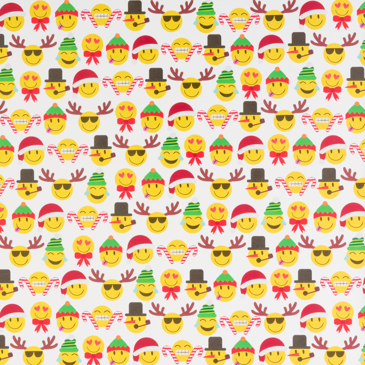 Christmas Emoji Wrap