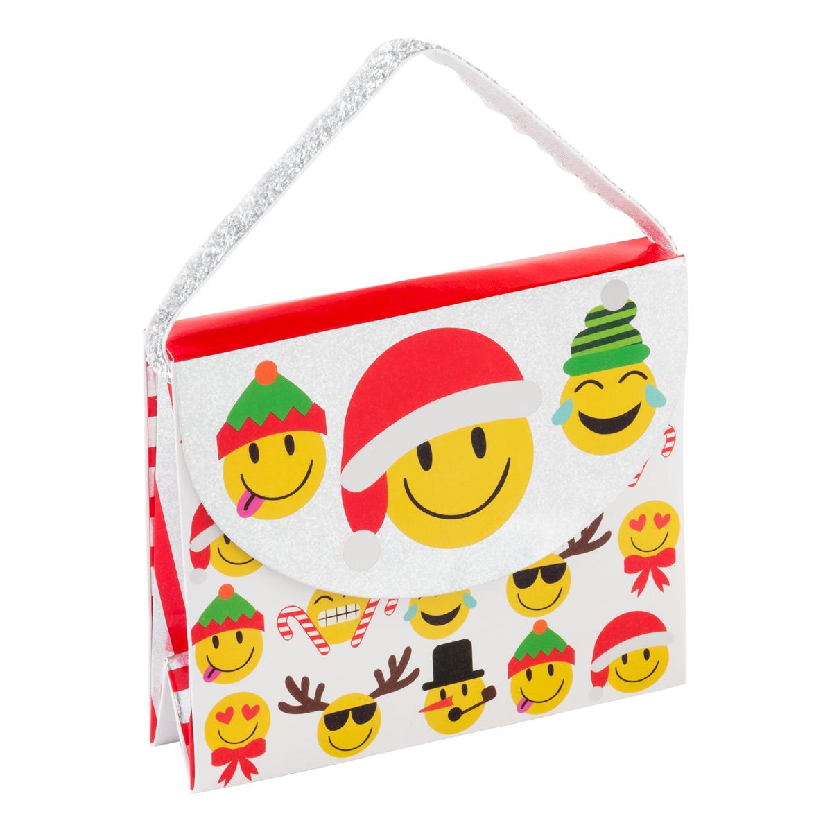 Christmas Emoji Candy Purse