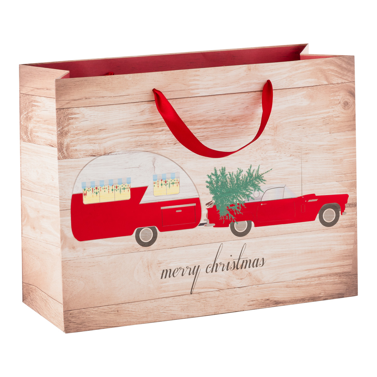 Holiday on Wheels Large Tote
