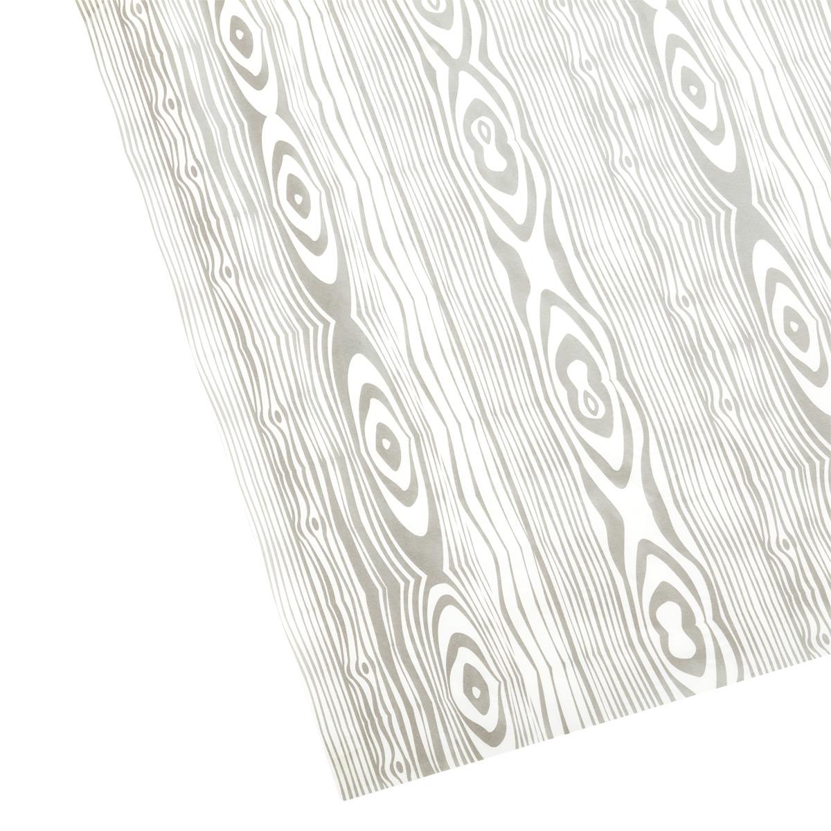 Tissue Silver Woodgrain