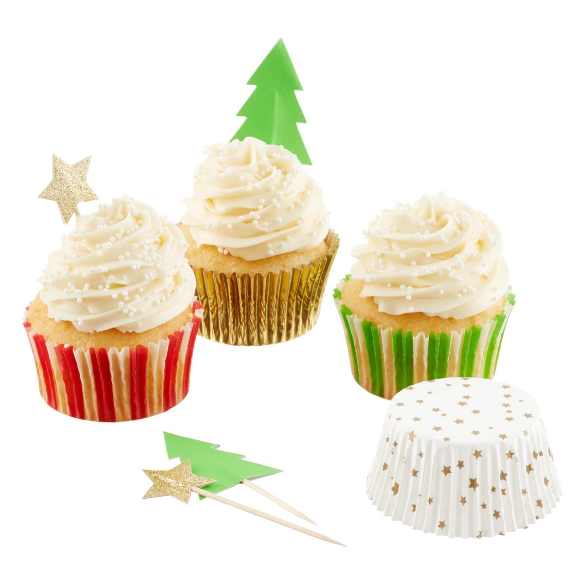 Stars & Trees Cupcake Kit