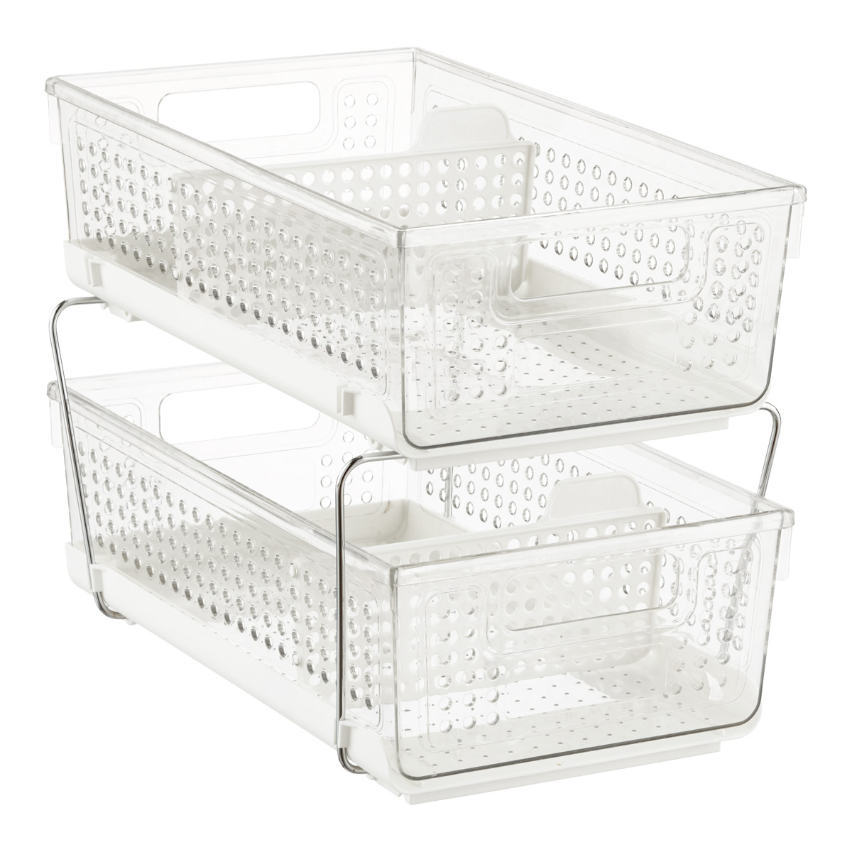 2-Tier Divided Organizer