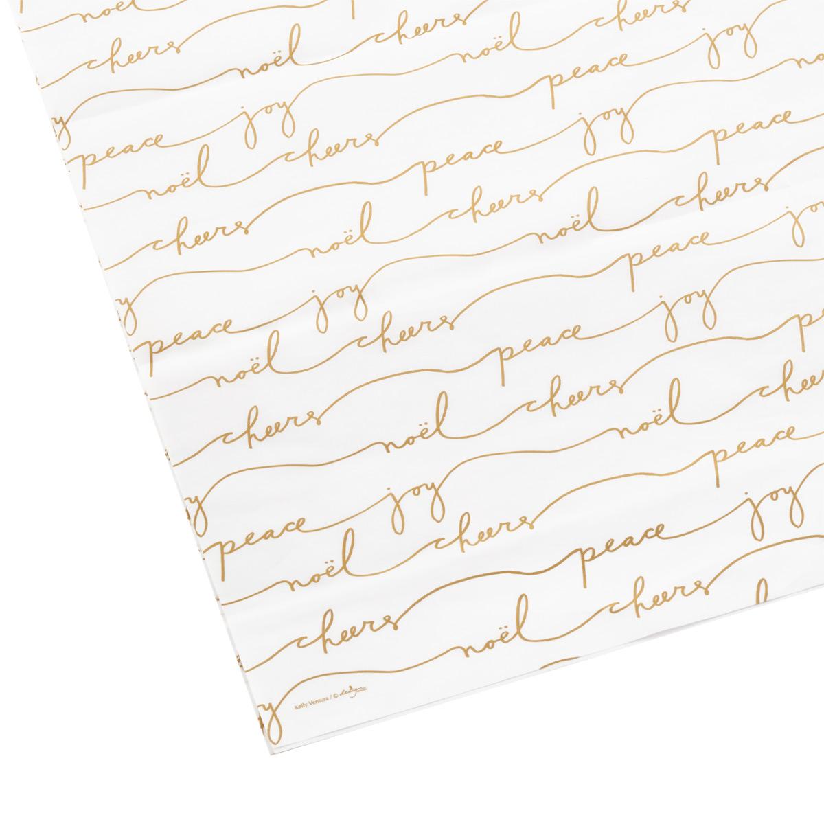 Tissue Sheets Joy/Noel/Cheers/