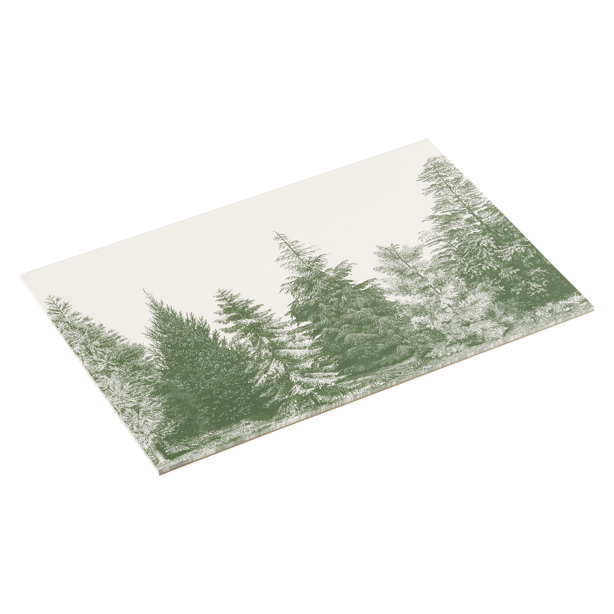Placemats Evergreen Trees