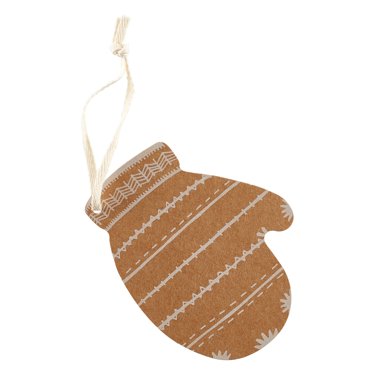 Gift Tags Mitten
