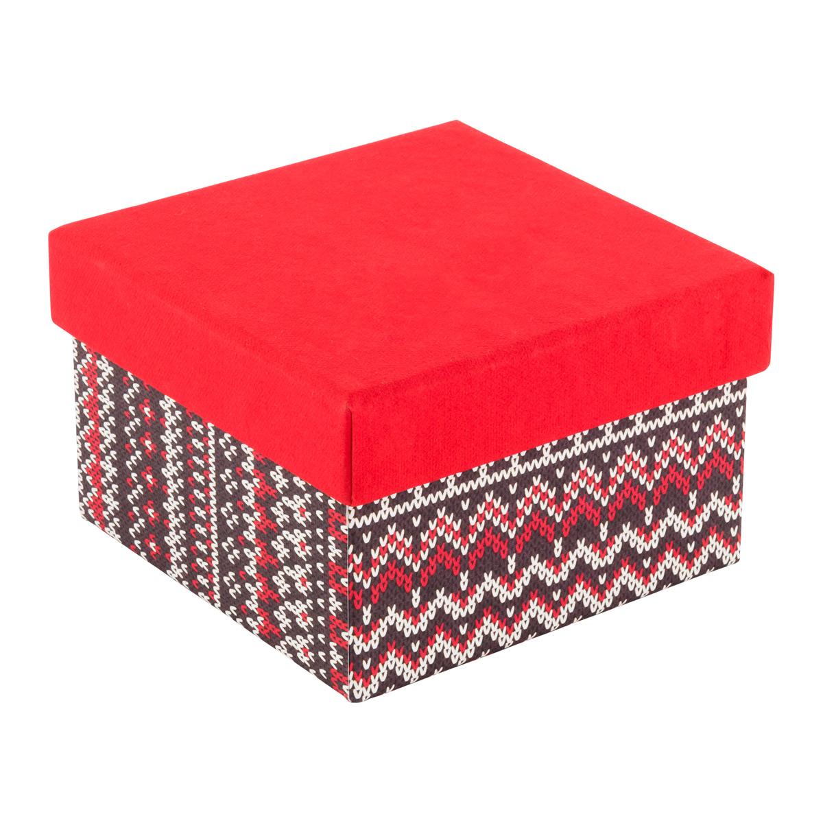 Square Box Sweater Print Base