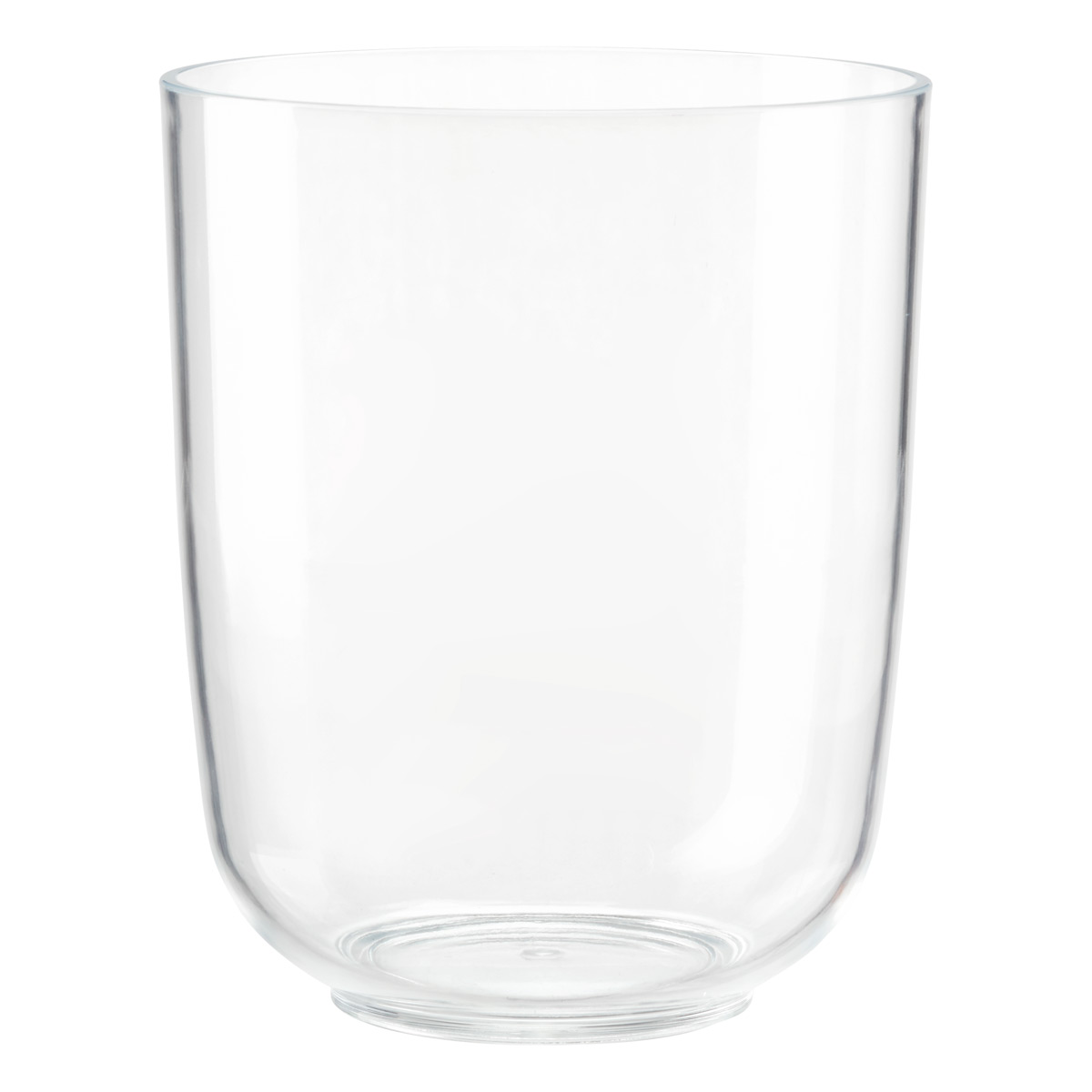 Cleara Acrylic Trash Can
