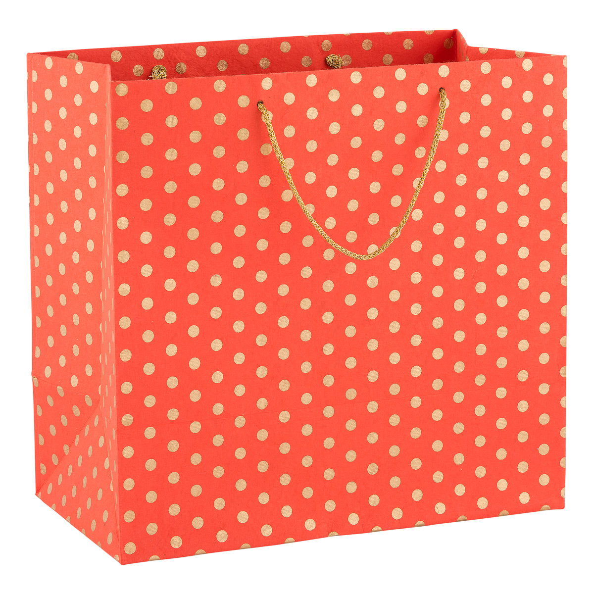 Recycled Large Tote Gold Dot