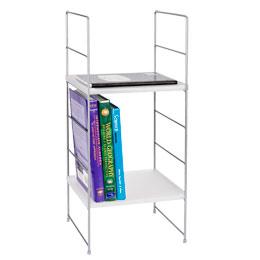 White Locker Shelf